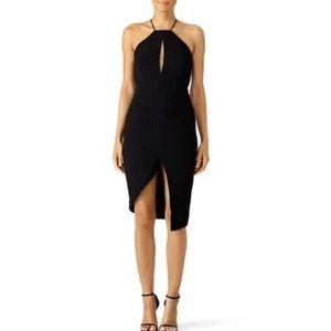 Nicholas Black Halter Sheath Formal Dress